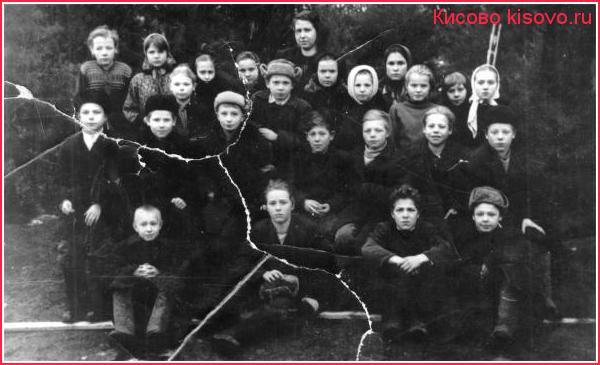 Сосновская школа 7б класс 1955 г.